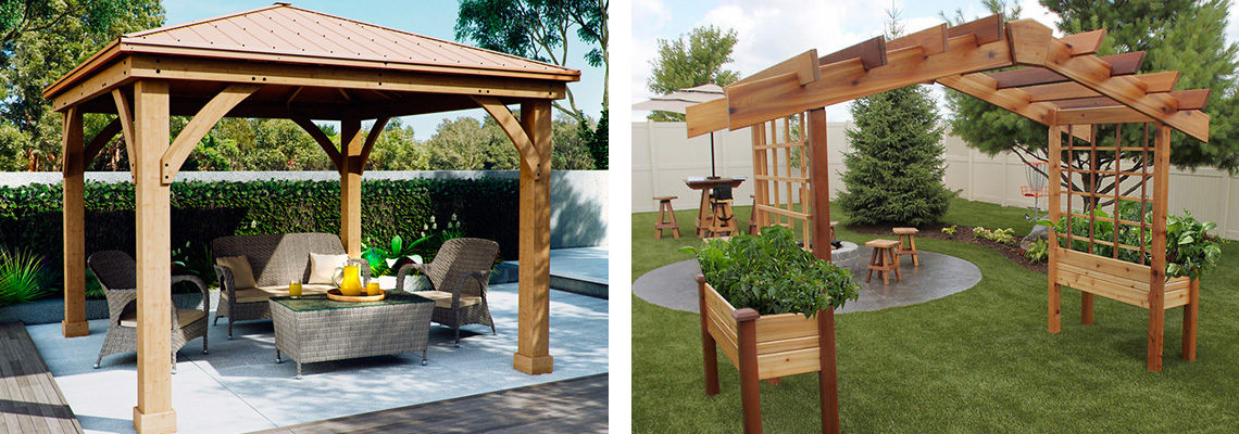 Garden Structures Installation - Outdoor Building Solutions