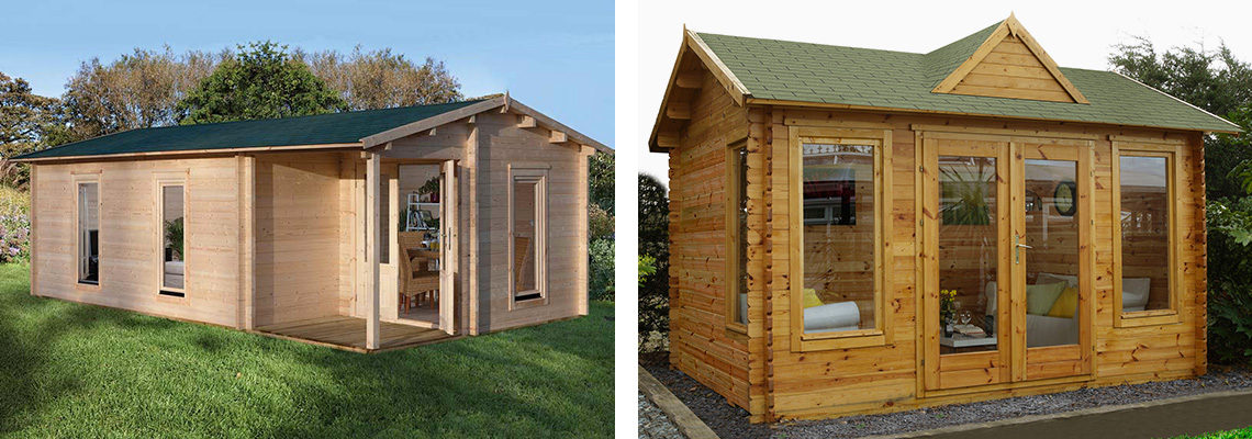 Log Cabin Installation - Outdoor Building Solutions